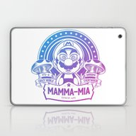 Mamma Mia Super Mario Is… Laptop & iPad Skin