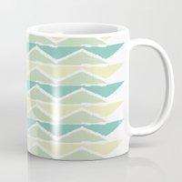Ocean Triangles Mug