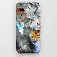 collage iPhone & iPod Cases featuring Collage by Blaz Rojs