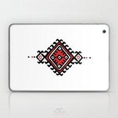 ethnic motif black&red Laptop & iPad Skin