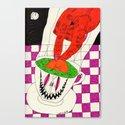 Tea with Satan. 2014.  Canvas Print