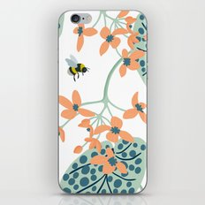 spots, leaves and bees iPhone & iPod Skin