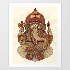 Ganesha: Lord of Success Art Print