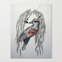 nikki Canvas Print