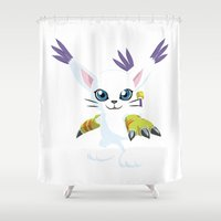 DIGIMON - Gatomon Shower Curtain