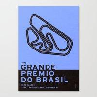 Legendary Races - 1973 Grande Prêmio do Brasil Canvas Print