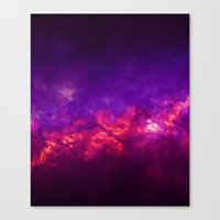 Painted Clouds Vapors I Canvas Print