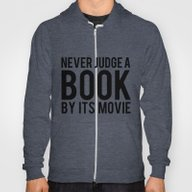 Never Judge A Book By It… Hoody