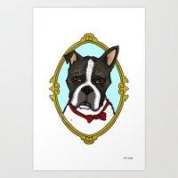 Mr B Art Print