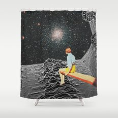 Unknown Pleasures To Inf… Shower Curtain