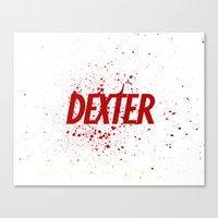 Dexter#01 Canvas Print