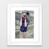 Paris Vintage 3 Framed Art Print