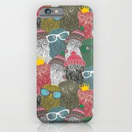 iPhone & iPod Case featuring The Crowd. by Panova