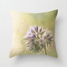 Phacelia Throw Pillow