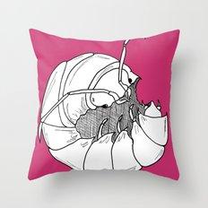 Woodlouse Throw Pillow