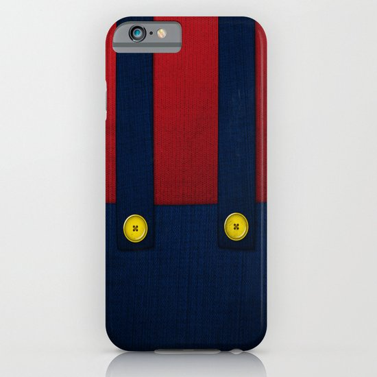 Video Game Poster: Plumber iPhone & iPod Case