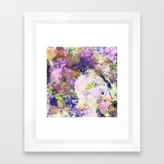 Colour Turmoil - Abstrac… Framed Art Print