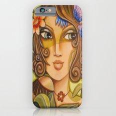 Mona Lisa's Butterflys Slim Case iPhone 6s