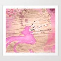 Safe & Sound  Valentine Special Art Print