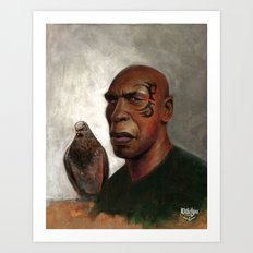 IRON PIGEON  Art Print
