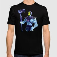 Polygon Heroes - Skeletor Mens Fitted Tee Black SMALL