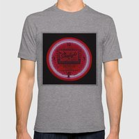 Neon cool Mens Fitted Tee Athletic Grey SMALL