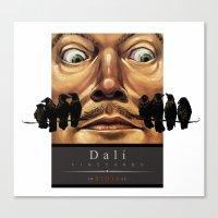 Dali Vineyards Wine Labe… Canvas Print