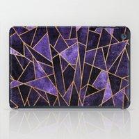 Shattered Amethyst iPad Case