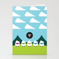 Magic Sheep Stationery Cards