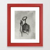 Trust With No Head And H… Framed Art Print