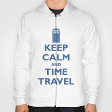 Keep Calm And Time Travel Hoody