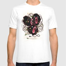 Tangle SMALL Mens Fitted Tee White