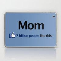 I Like Mom Laptop & iPad Skin