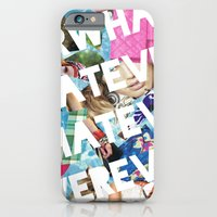 iPhone & iPod Case featuring WHATEVER by R.Bongiovani