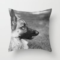 Baron Boy Throw Pillow
