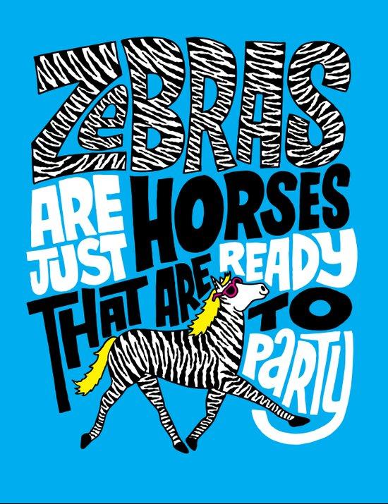 Party Horses Art Print