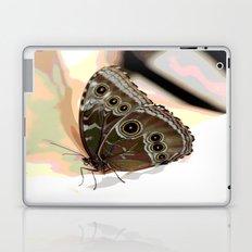Bulls Eye Butterfly Laptop & iPad Skin