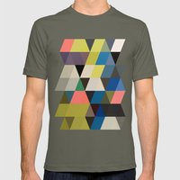 Color Story - Traverse  Mens Fitted Tee Lieutenant SMALL
