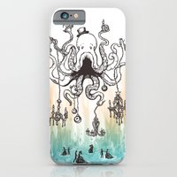 iPhone & iPod Case featuring Octoluminary by jewelwing