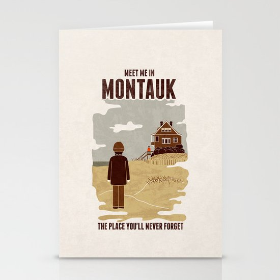 Montauk Stationery Card