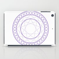 Anime Magic Circle iPad Case