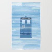 TARDIS Under The Sea - D… Rug