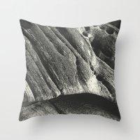 Silent Stone A.D. IV Throw Pillow