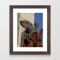 Fallen angels Framed Art Print
