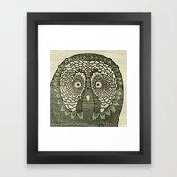 Owlustrations 3 Framed Art Print