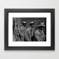 The Bread Line Framed Art Print