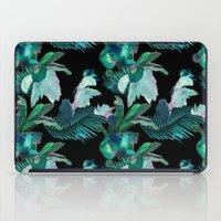 Midnight Iris / Black iPad Case