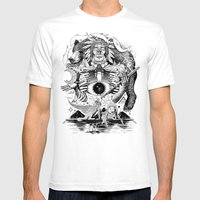 Dream Pipe Mens Fitted Tee White SMALL