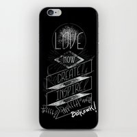 Love NOW, Create, Inspire, Pppfffft ppffft p-ppfft iPhone & iPod Skin