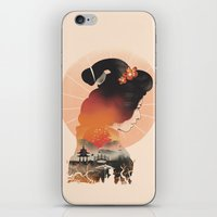 Memoirs of the Rising Sun iPhone & iPod Skin